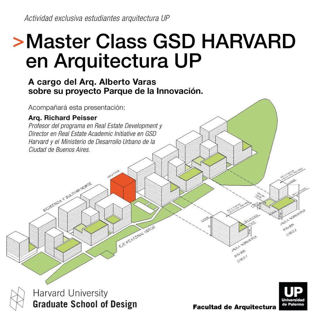 Master Class GSD HARVARD en Arquitectura UP